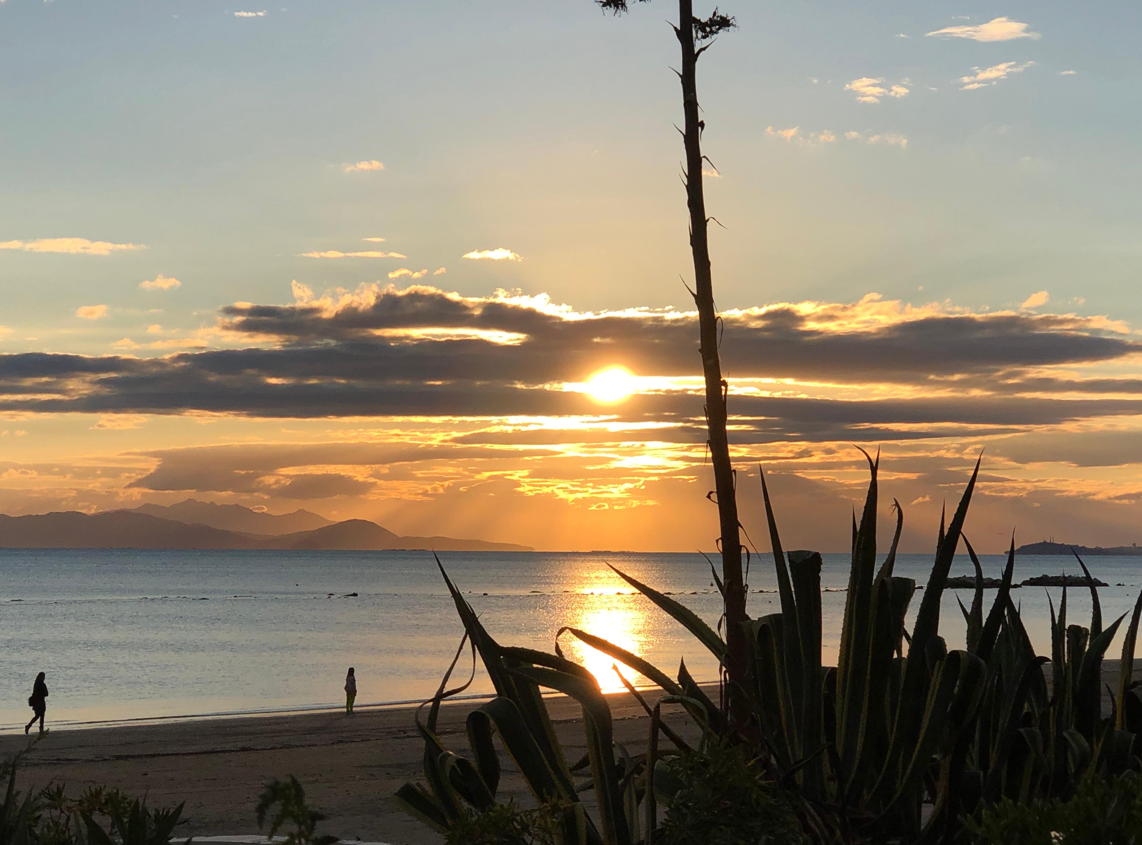 Follonica, tramonto, 8 ottobre 2021