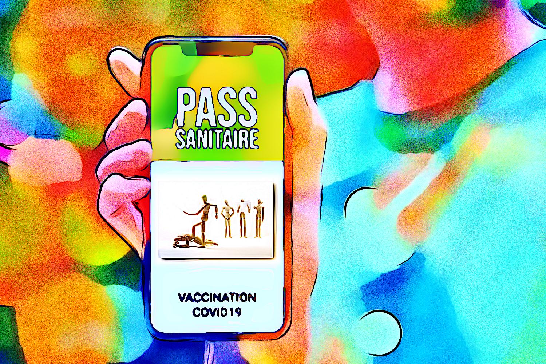 Pass sanitario: è troppo tardi (pittura, Francesco Galgani, 7 settembre 2021)