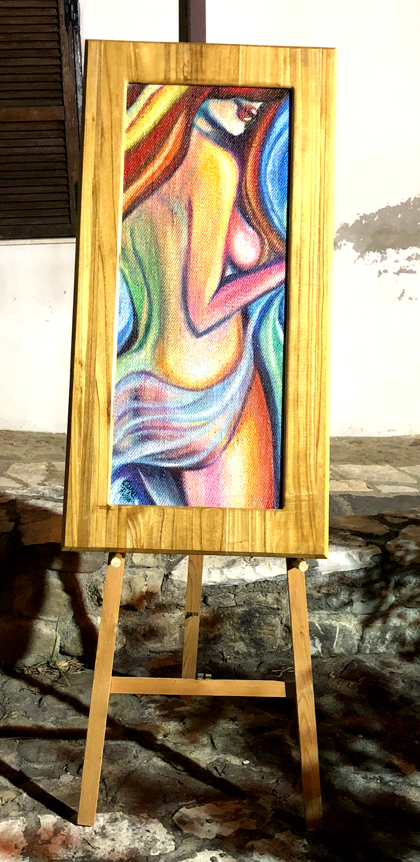 Donna colorata
