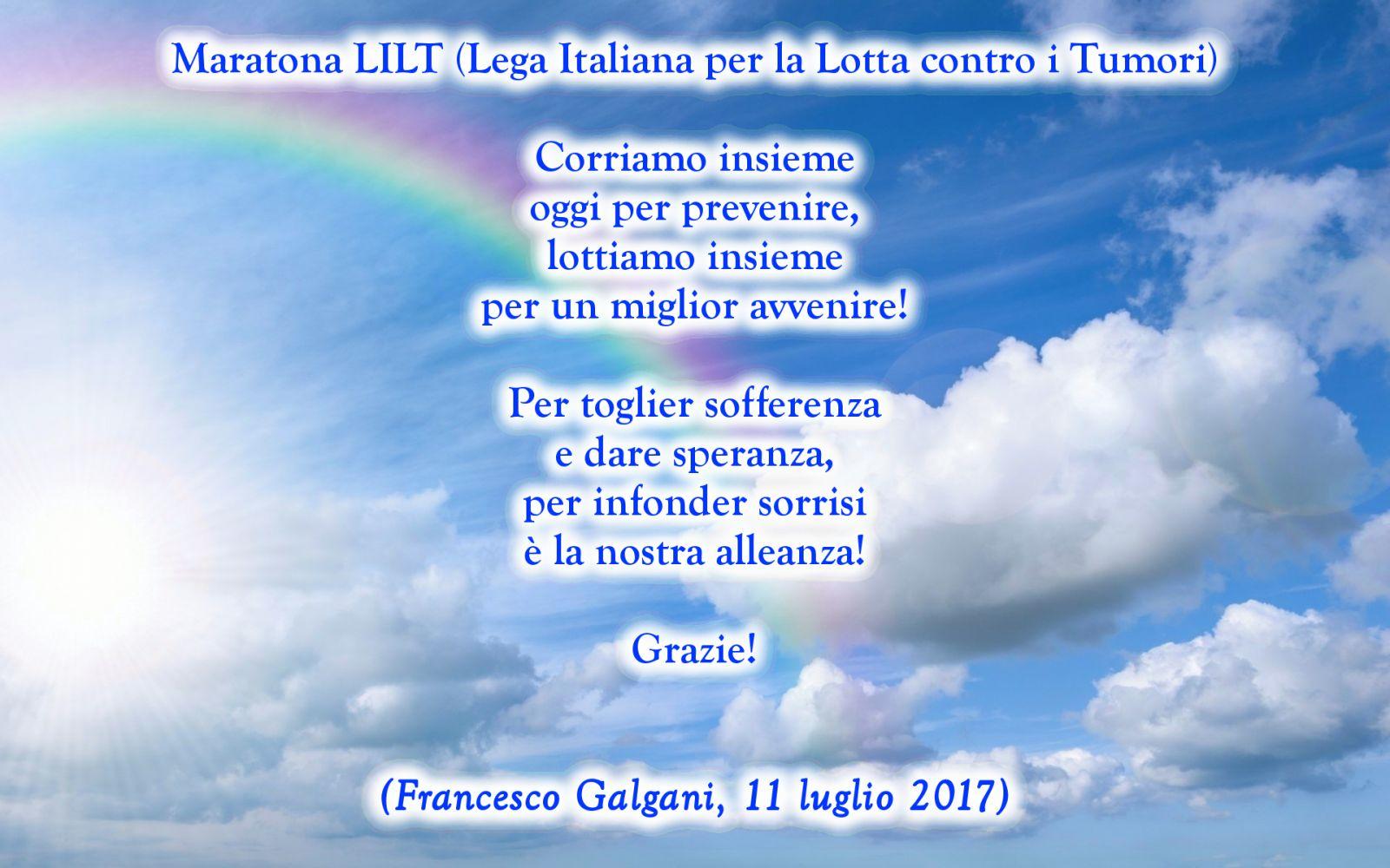 Maratona LILT (Lega Italiana per la Lotta contro i Tumori)