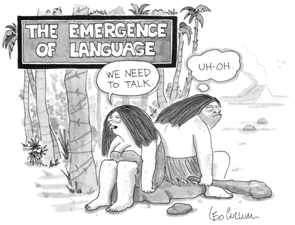 The emergence of language