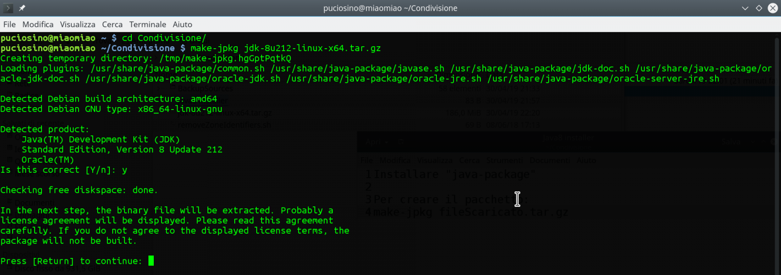 Java 8 installation on Debian / Ubuntu / Linux Mint