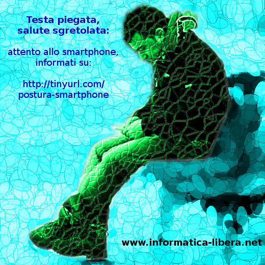 Problemi postura smartphone