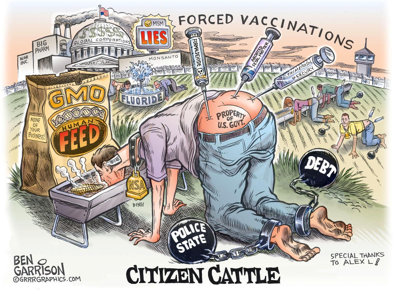 Risultati immagini per vaccini dittatura