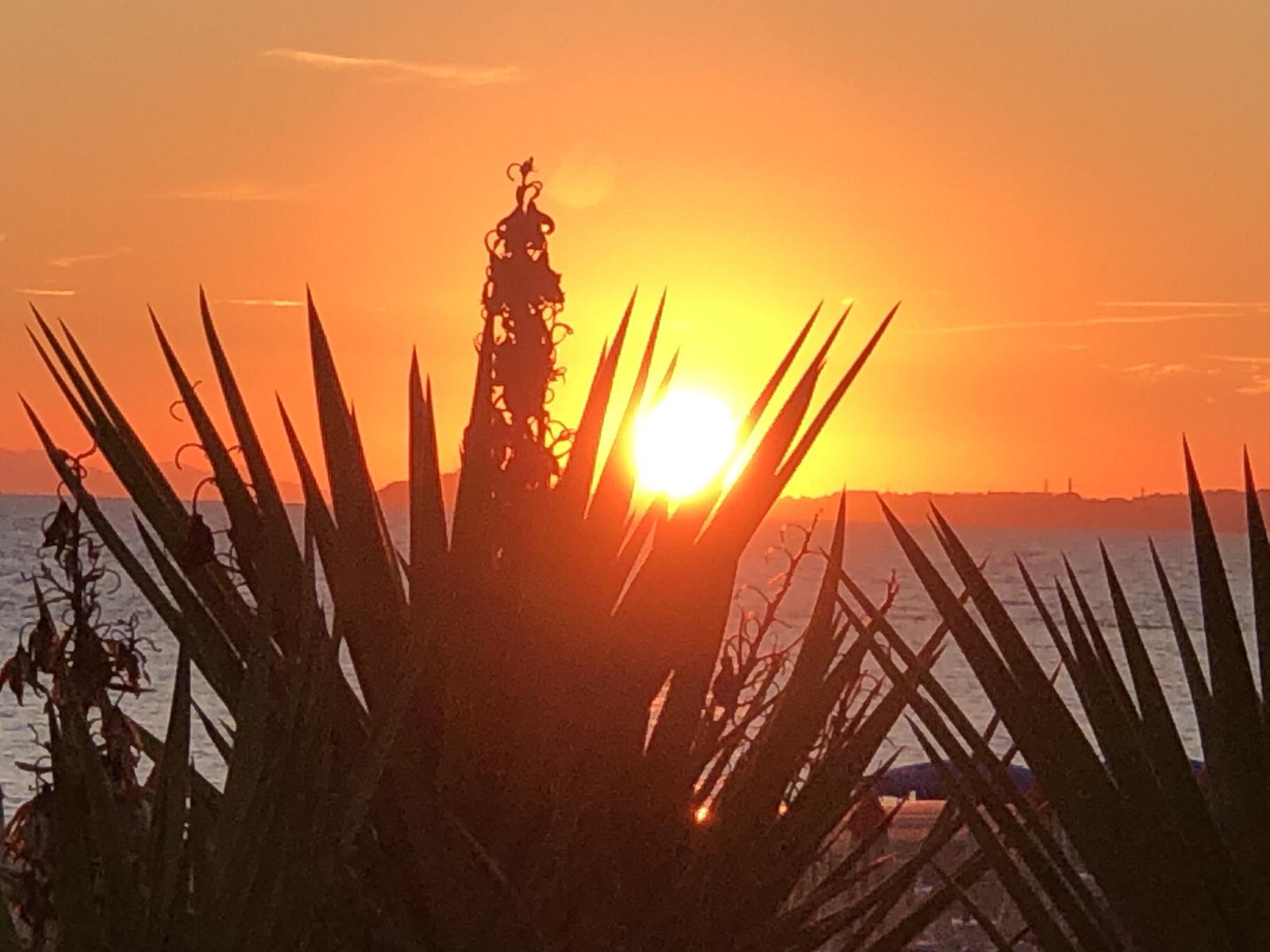 tramonto Follonica 23 settembre 2021 (foto di Francesco Galgani)